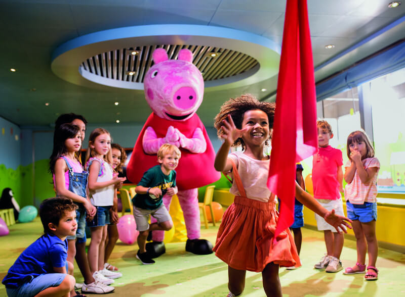 Kids Club an Bord von Costa