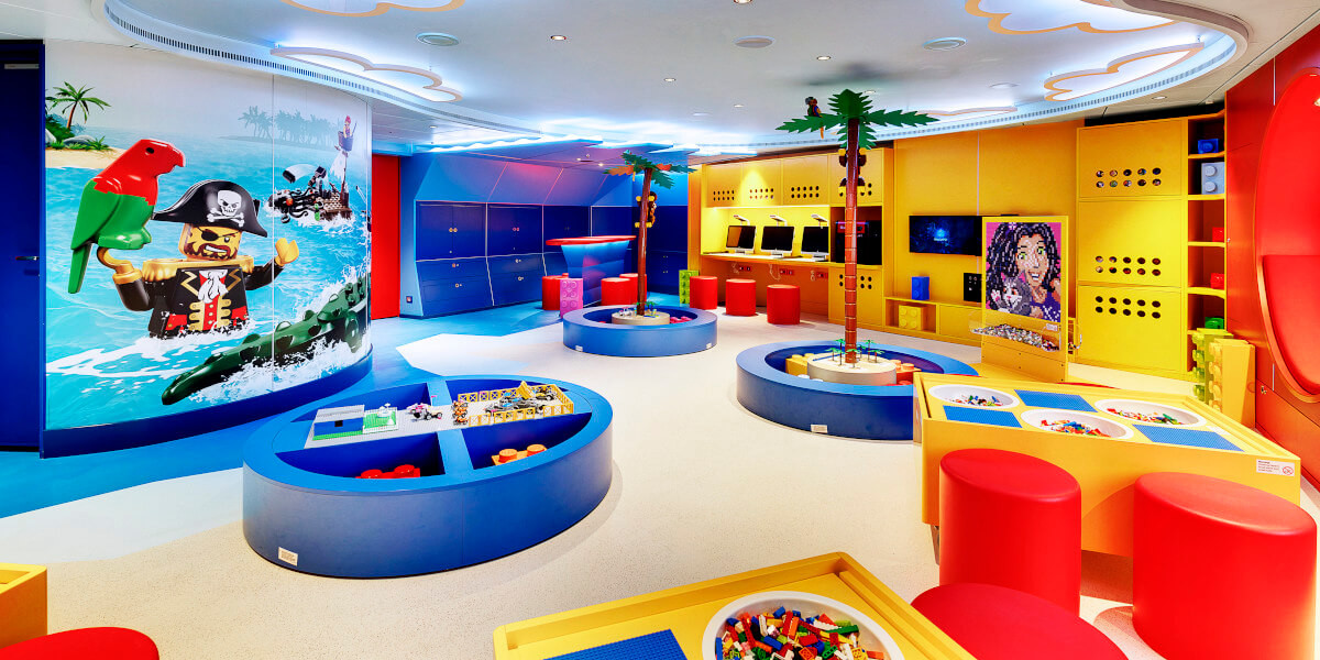 Kids Club auf der MSC Seaside