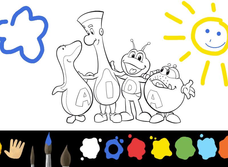 Aida Spiele Fur Kids Kinderwelt Clubbies Und Papierschiff